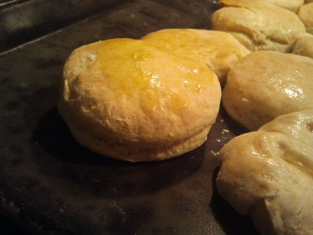 GREAT biscuit recipe. This is a copycat for Popeyes buttermilk biscuits. Please dont use salted butter in this recipe (or, indeed, in any of your baking). From www.TopSecretRecipes.com