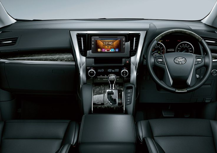New Toyota VellFire 2.5G Interior 1