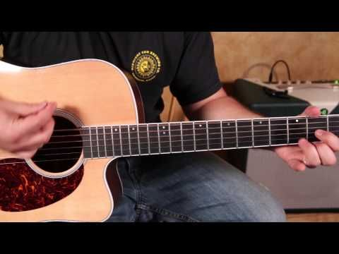 How to Play Harvest Moon by Neil Young acoustic guitar songs - tutorial - YouTube