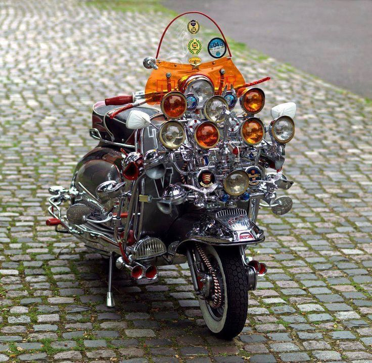 Lambretta TV Mod style