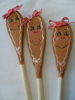 Wooden Spoon Painting
