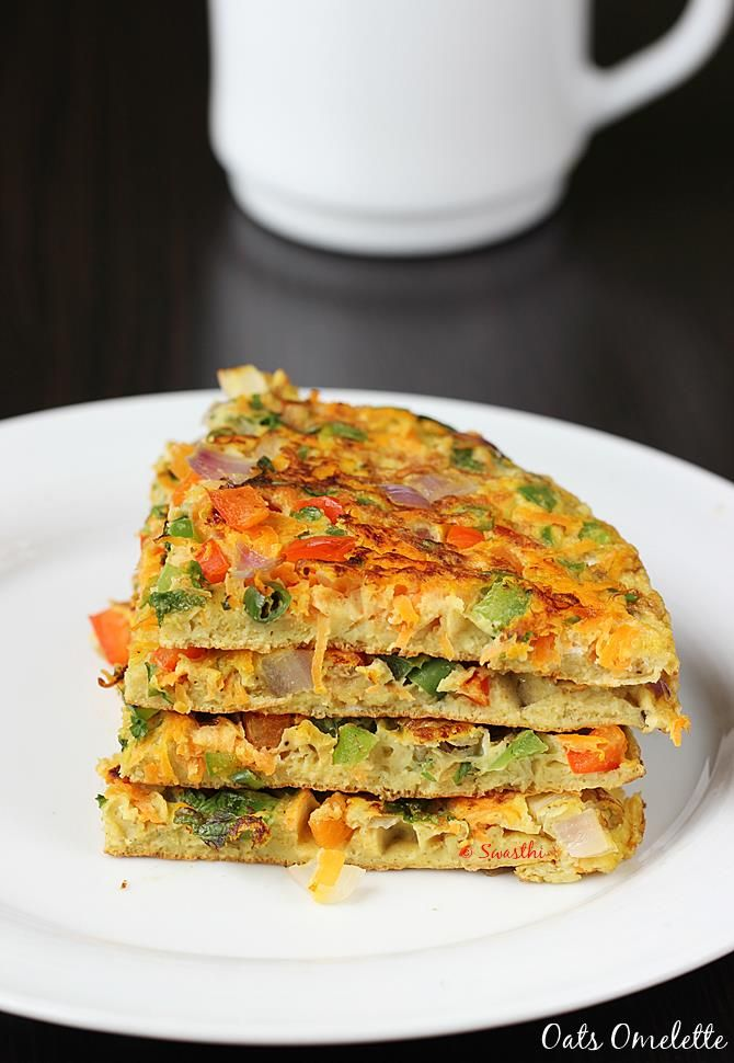 oats egg omelette recipe