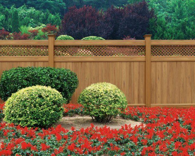 Cl ture en pvc l 39 alternative moderne de celle en bois d co et design - Cloture jardin en pvc ...