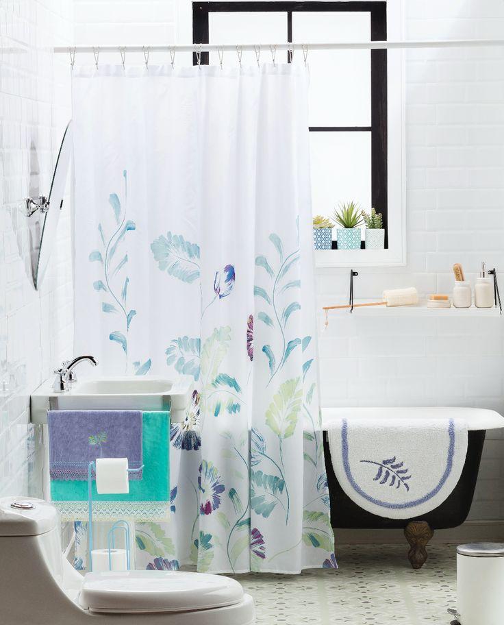 Nuestra colección Boró se renueva para que incorpores nuestros nuevos diseños de cortina, toallas y piso de baño a tu hogar.