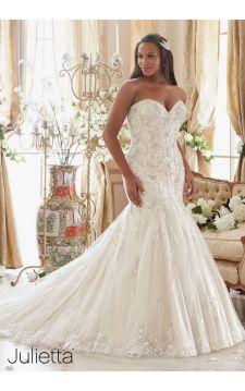 Superb Julietta Julietta MoriLee weddingdress wedding plussizeweddingdress