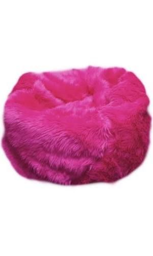 Pink Fluffy Cheap Bean Bag Chair