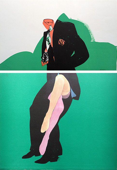 Allen Jones Life Class 1968 – Print 7