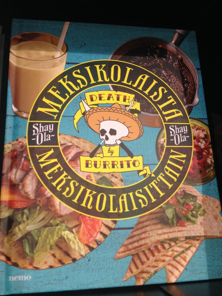 Mexican food book
