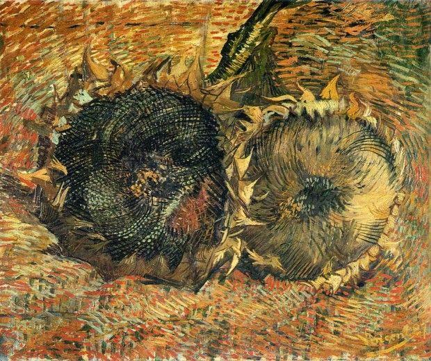 Vincent van Gogh, Two Sunflowers, 1887, Musée d'Orsay