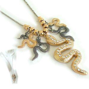 Lange Ketting met slangen -SMADA® Trading