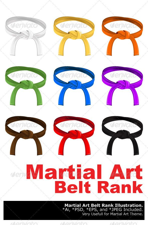 Martial Art Belt Rank System