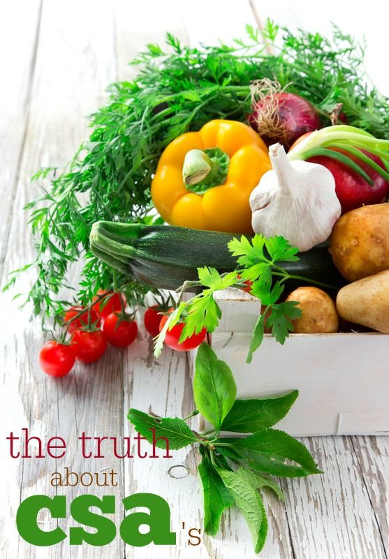 The Truth About CSA's: Everything you need to know about Community Supported Agriculture!