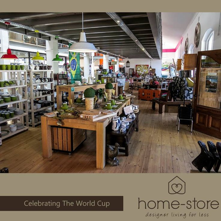 "With a vast product offering from artifacts to furniture and house wares. Home-Store offers an emporium of products  a shopping experience that is enlightening and fulfilling. We promote local artists, celebrate South African craftsmanship and support community projects. We love that many of our offerings have a "" story"" behind them. Currently we are celebrating the world cup and invite you to come and see our newest arrivals. #homedecor #musthaves #emporium"