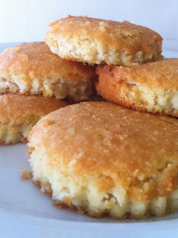 Almond & Coconut Flour Biscuits(could be dairy free if you substitute for the butter)