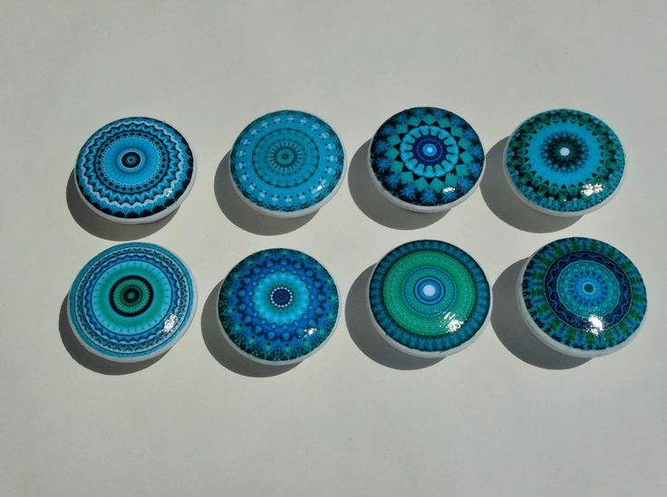 9 best home collection images on pinterest cushion for Turquoise door knobs