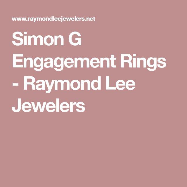 Simon G Engagement Rings - Raymond Lee Jewelers