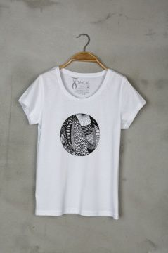 Snake Kadın Tişört - Snake Woman Tshirt