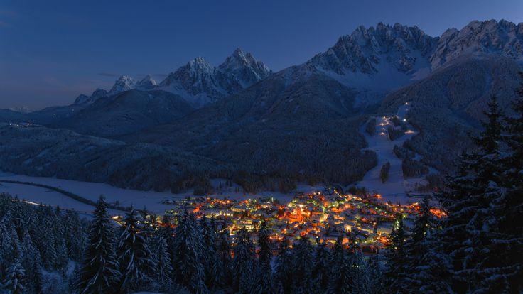 Innichen / San Candido in the Evening - Near Innichen, South Tyrol, Italy