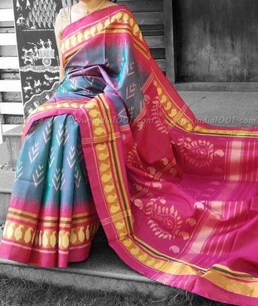 Stunning Woven Patola Silk Saree