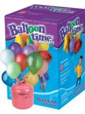 Small Helium Tank, $50; enough to fill 30 balloons - Party City