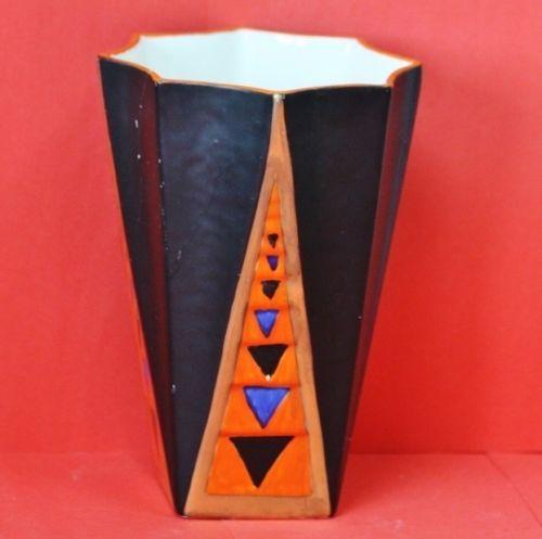 Crown Ducal vase