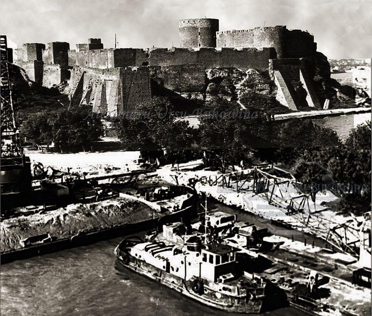 Cetatea Albă. Plasa Liman. Oraşul Cetatea Albă. Cetatea lui Ștefan cel Mare și portul