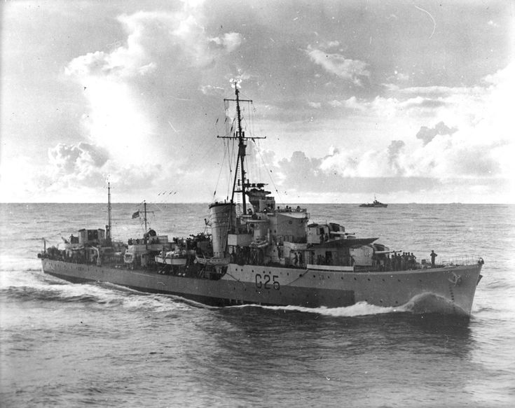 HMAS Nepal (G25) was a N-class destroyer of the Royal Australian Navy (RAN).