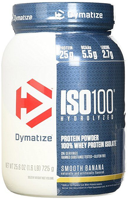 Amazon.com: Dymatize ISO 100 Whey Protein Powder Isolate, Gourmet Chocolate, 1.6 lbs: Health & Personal Care