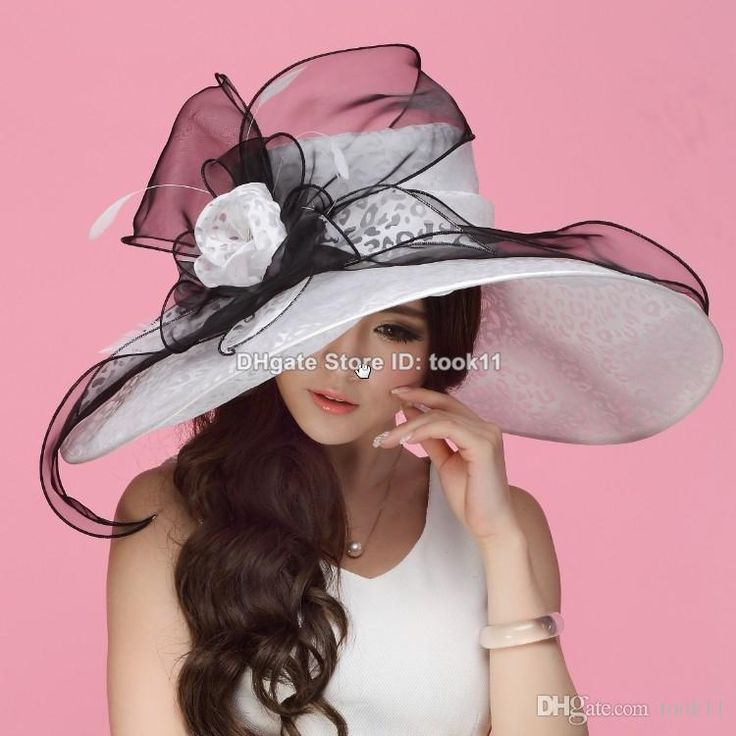 I found some amazing stuff, open it to learn more! Don't wait:http://m.dhgate.com/product/white-kentucky-derby-hats-for-tea-party-dresses/392920602.html