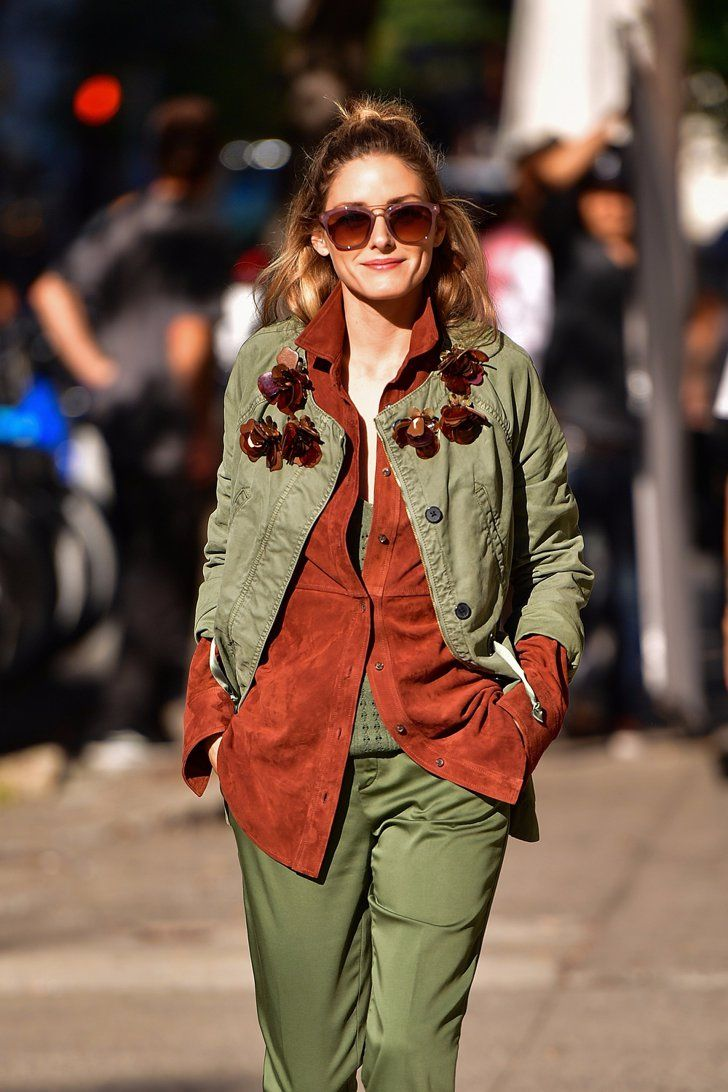 Olivia Palermo Pulls Off the Ultimate Fall Outfit