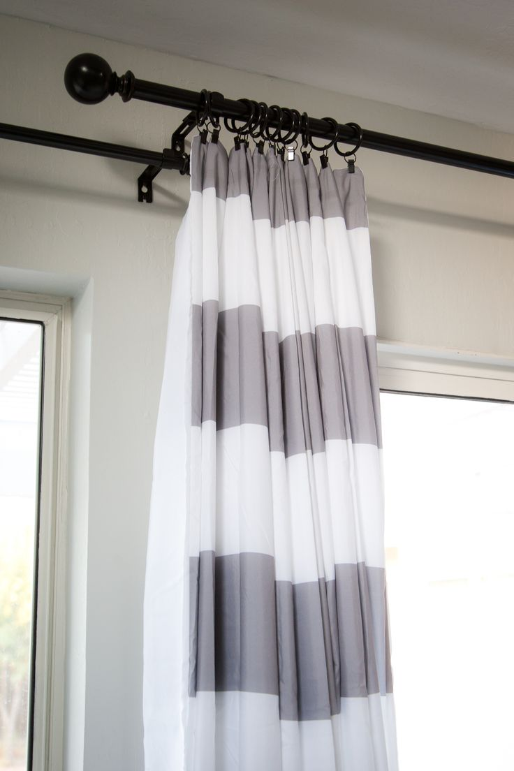 Blue and white striped curtains - Best 25 Horizontal Striped Curtains Ideas On Pinterest Striped Curtains Curtains At Walmart And Neutral Kitchen Curtains