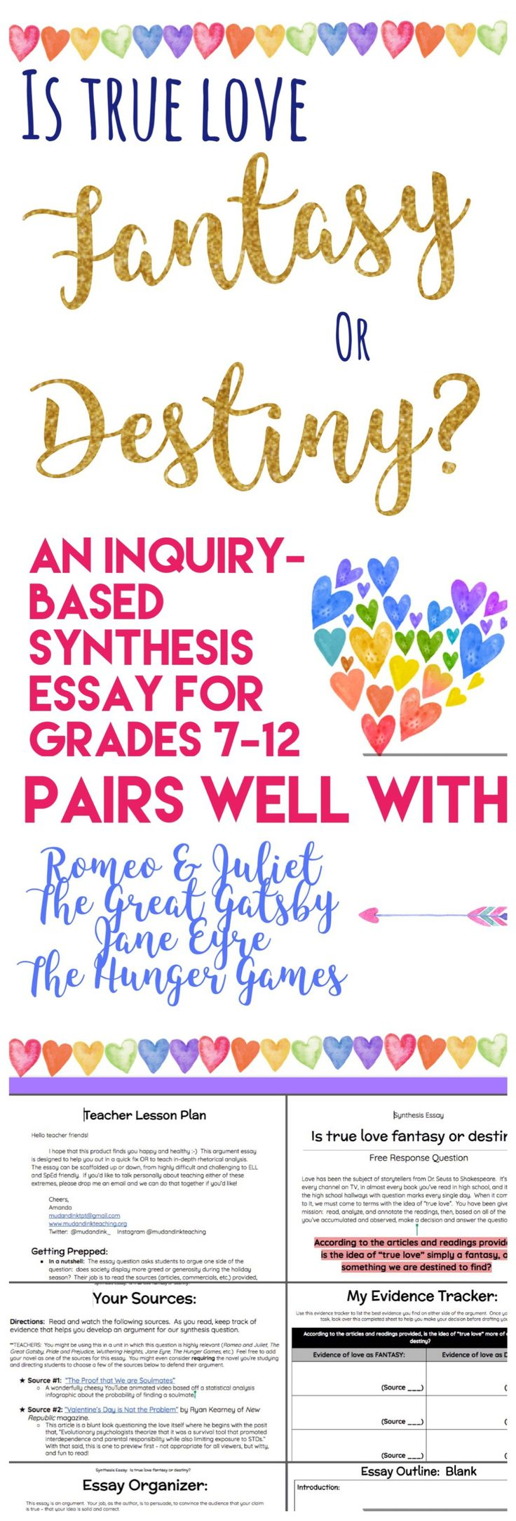 Every English teacher needs new ways to teach argument, rhetoric, and analytical writing. The Inquiry-Based Synthesis Essay is here to save the day! #argumentwriting #writing