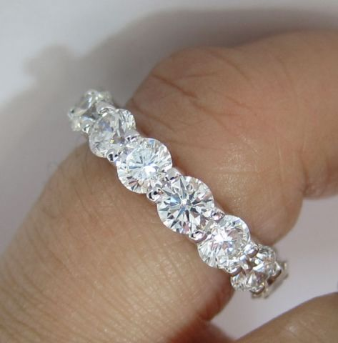 WE ARE REBORN AND REBORN AND REBORN UNTIL WE ARE ENLIGHTENED.,....The most beautiful eternity band (30 pointers)