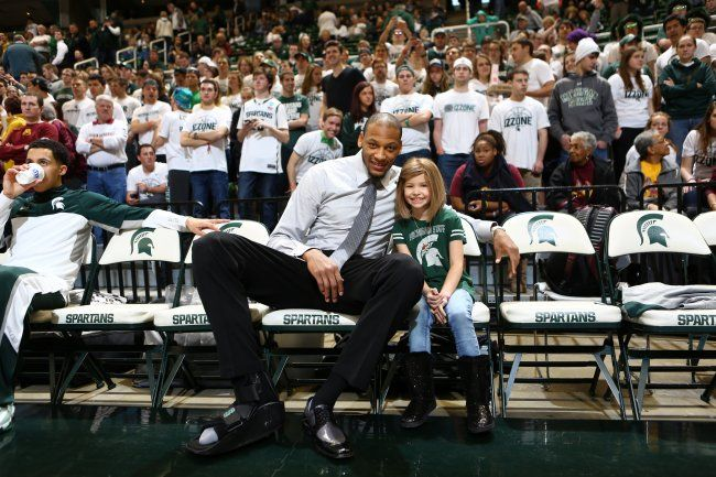 The Adreian Payne Story: How Michigan State Star Became the Ultimate Role Model | Bleacher Report.  So inspiring!