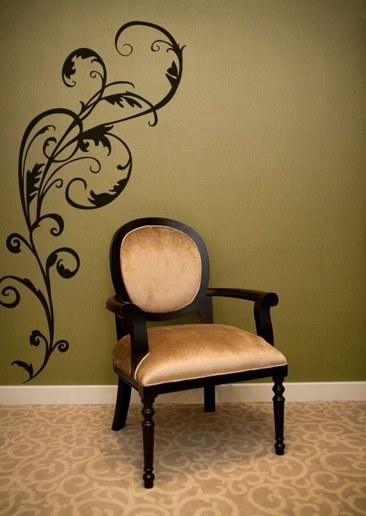 Wall Decals by lottie, if I can like a decal I can probably paint it.