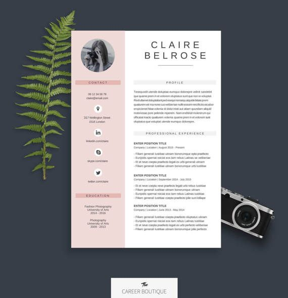 welcome to the career boutique  check out our brand new cv on etsy