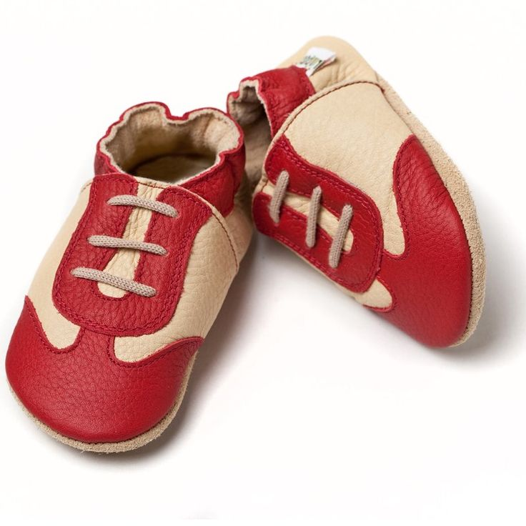 Liliputi® Soft Baby Shoes Red Sport
