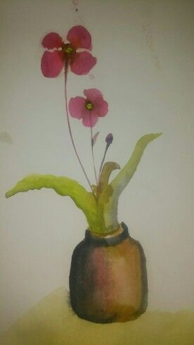 Still life. Water colour