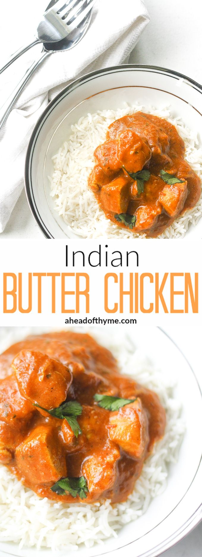 how to make indian butter chicken curry