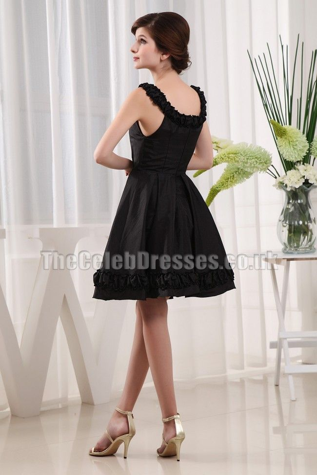 image of cute little black dress | ... Style Discount Cute Little Black Party Gown Cocktail Dress TCUW3280