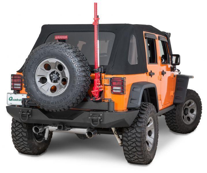 Rugged Ridge Xtreme Heavy Duty Rear Bumper System In