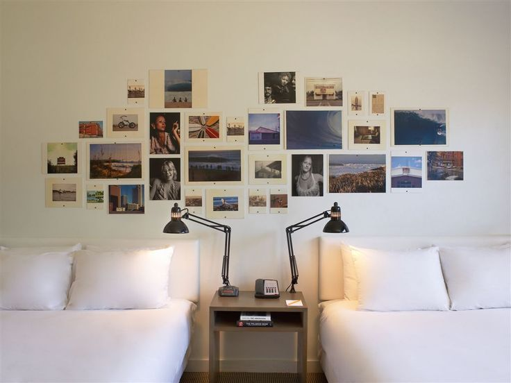 Photo collage wall decor