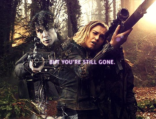 Bellarke- The 100 | Series Addict | Pinterest | The 100, Bellarke and The 100 quotes