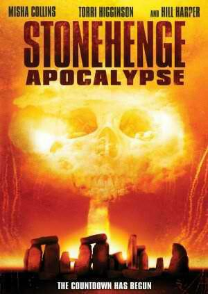 Stonehenge Apocalypse aired on June 12, 2010, starring Misha Collins and Hill Harper; directed by Paul Ziller. An ancient prophecy comes to pass when archaeologists unearth an Egyptian chamber, sparking a devastating electromagnetic pulse that originates at Stonehenge, sending destructive shockwaves around the globe.