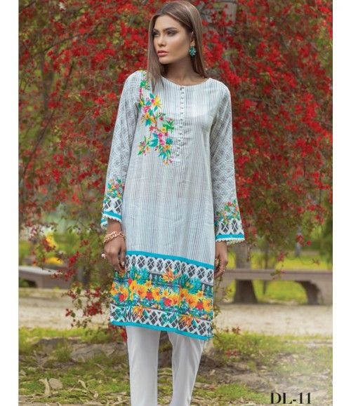 Digital Lawn- Summer Fantacy Kurti Collection By Alkaram DL_11