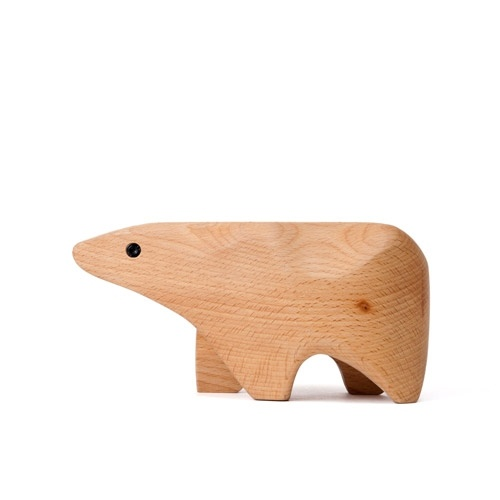 Animal Box Polar Bear, @Areaware. Design by Karl Zahn.