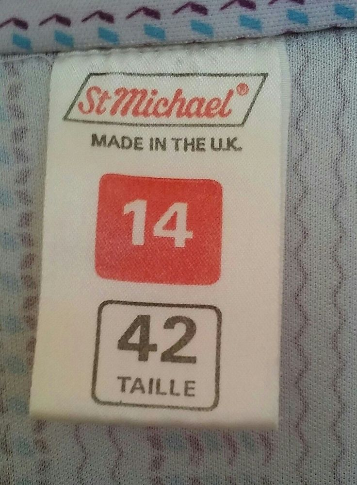 Back in the day Marks and Spencer's label. #childhoodmemories #nostalgia