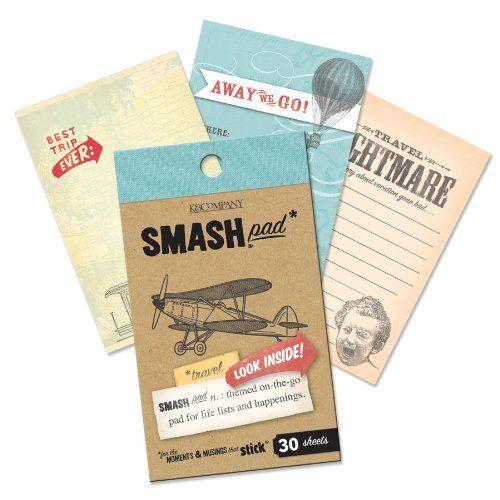 K Pad, Travel: Ideas, Craft, Journals, Smashbook, Smash Book, Smash Pad, Travel Pad