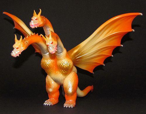"""Great monster!!!!!  Gigabrain """"1964 King Ghidorah"""" (Super Festival 58)"""