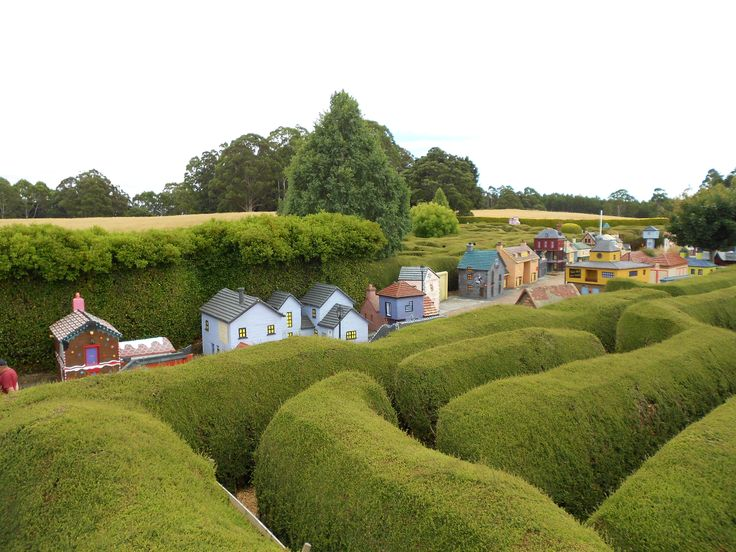 Miniature Village and Maze , Lower Crackpot, via Sheffield Tasmania